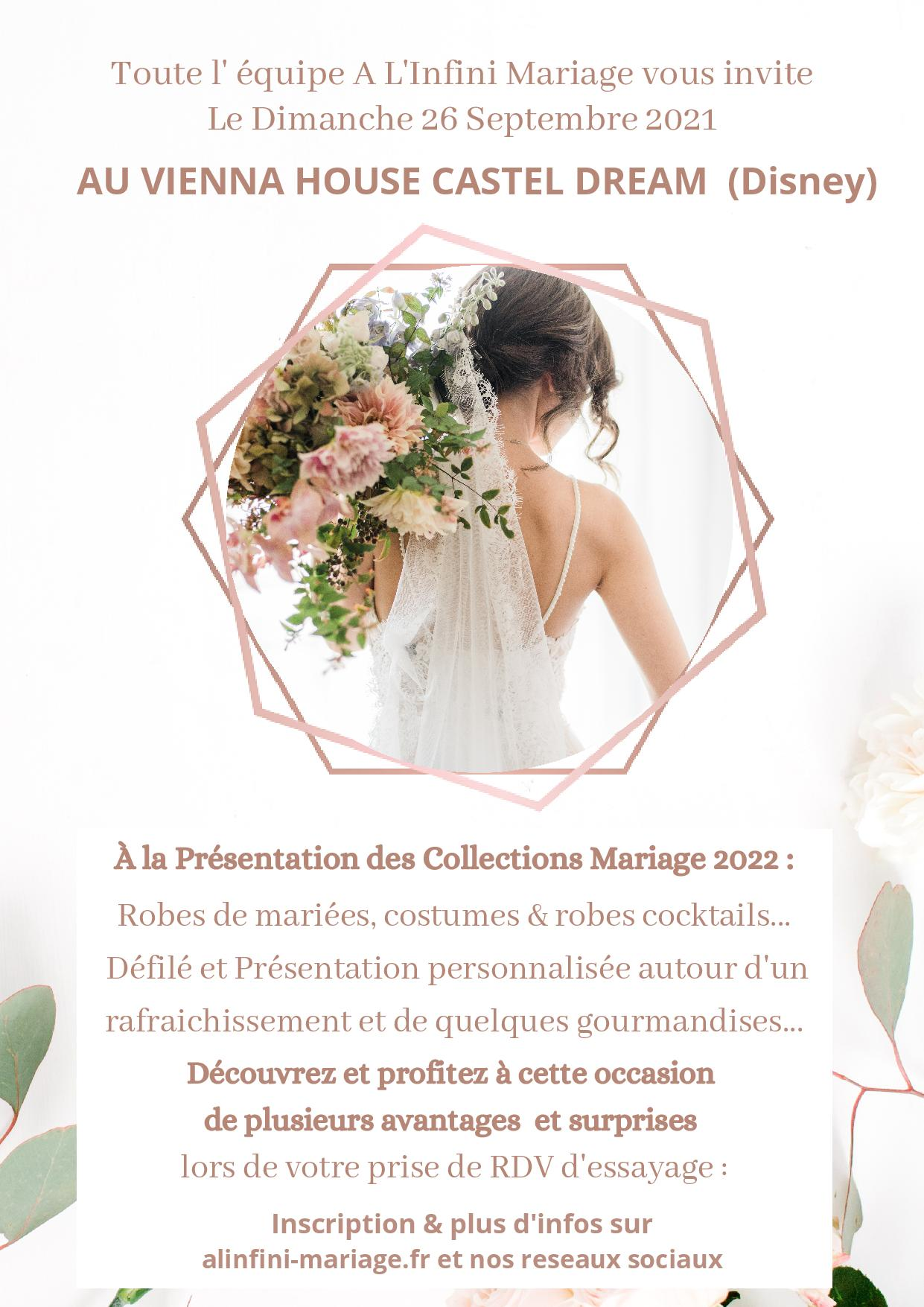 Collection Mariage 2022 A l'infini mariage